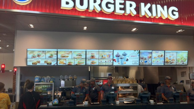 Burger King Reims-Champagne (A4) - 6 caisses à disposition / © Photo : Laurence Laborie - France 3 Champagne-Ardenne