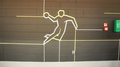 Illustration handball