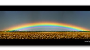 Arc-en-ciel possible sur la région Pays de La Loire. / © CC / Melinda Swinford / Flickr