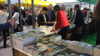 Le Printemps du Livre à Montaigu réunit 25 auteurs du 5 au 7 avril 2019 / © France TV / Damien Raveleau