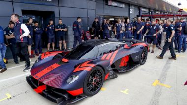 La Aston Martin Valkyrie, au FIA Formula One World Championship 2019, Grand Prix of Great Britain, le 13 juillet 2019 / © HOCH ZWEI/Newscom/MaxPPP