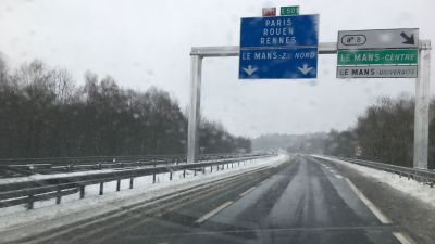 Neige en Sarthe : le point sur la circulation