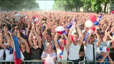 Nantes : pendant la finale France-Croatie, une agression sexuelle dans la fan zone