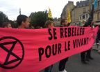 Rennes : le mouvement Extinction Rebellion bloque la circulation