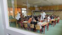 Illustration cantine scolaire