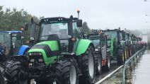 Manif agriculteurs, Laval, France 3