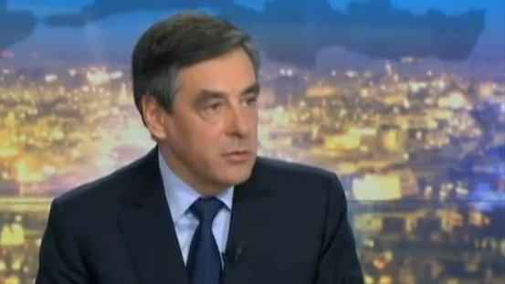 François Fillon, invité du JT de 20H de France 2, le 08 avril 2013 / © France 2