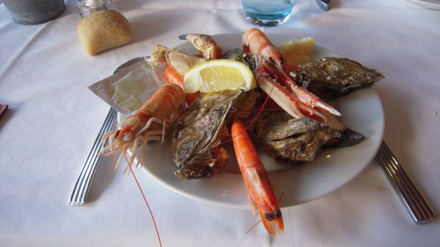 Quelques fruits de mer pour un menu de réveillon traditionnel / © cc flickr