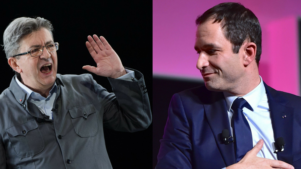Election présidentielle : un collectif nantais appelle Hamon et Mélenchon à un ticket unique