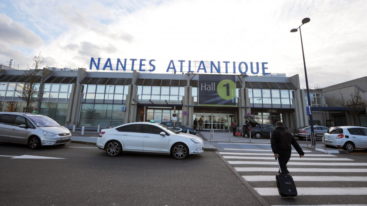 L'aéroport Nantes Atlantique en 2013. / © FRANK PERRY / AFP