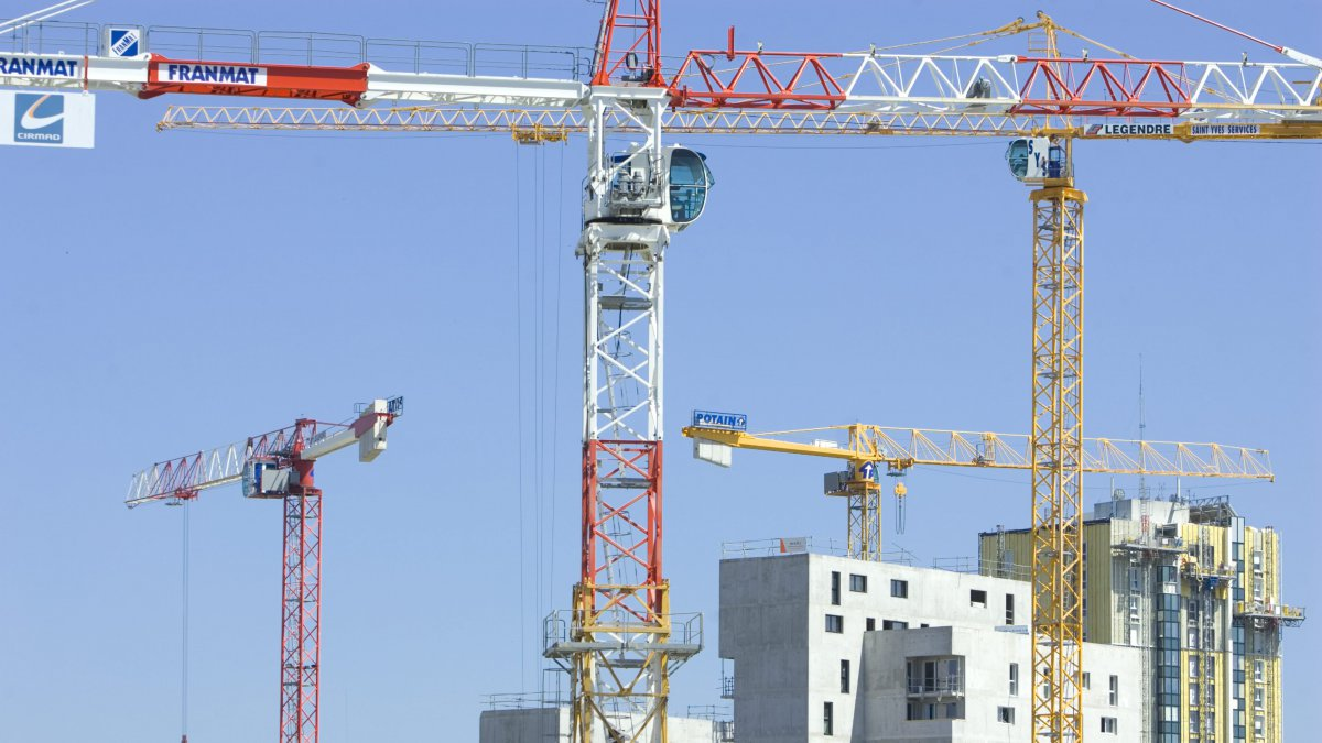 Nantes: accident mortel en haut d'une grue de chantier