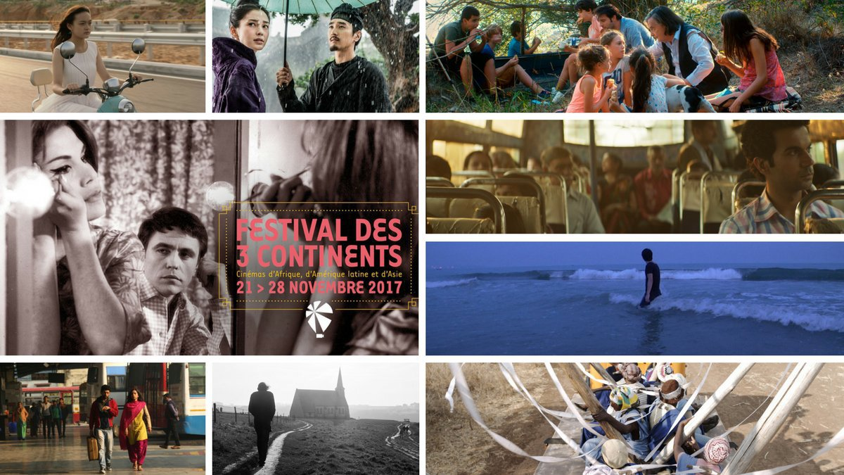 Les films en compétition internationale au Festival des 3 continents