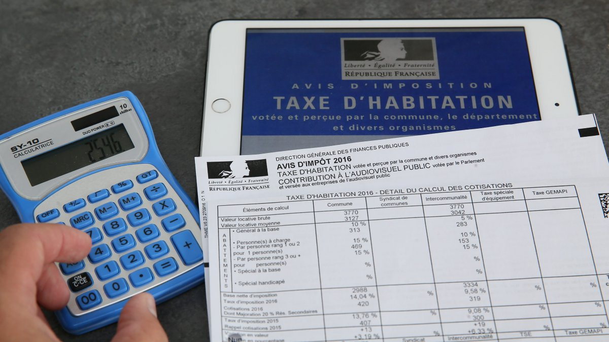 Suppression de la taxe d'habitation :