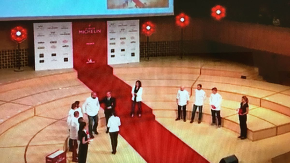 La remise des étoiles du guide Michelin 2018 / © Capture Facebook Live guide Michelin