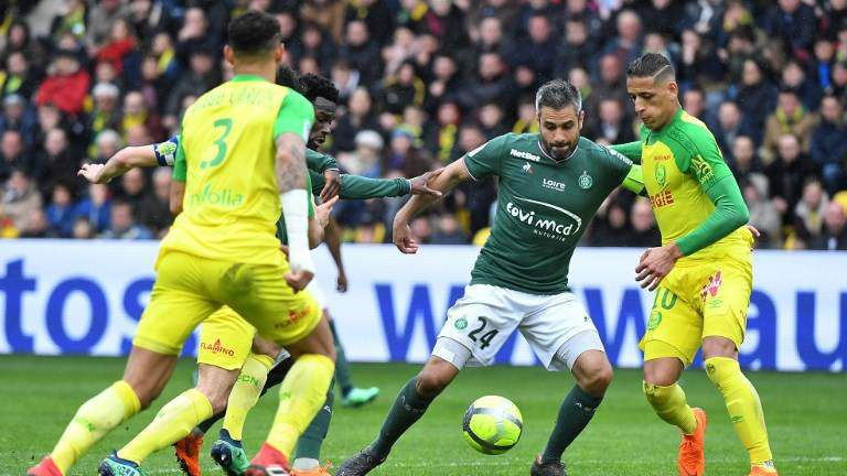 Le FC Nantes s'incline face à l'AS Saint-Etienne avec un score de 0 à 3