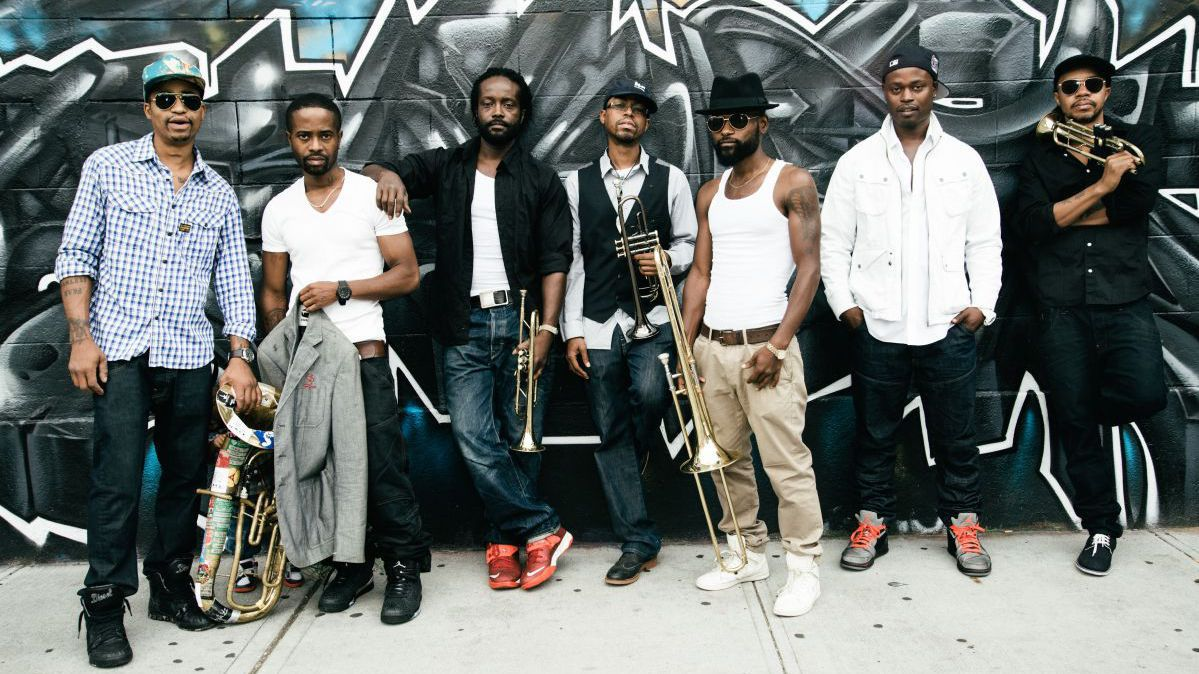 Le Hypnotic Brass Ensemble en live à Fuzz'Yon le 27 avril