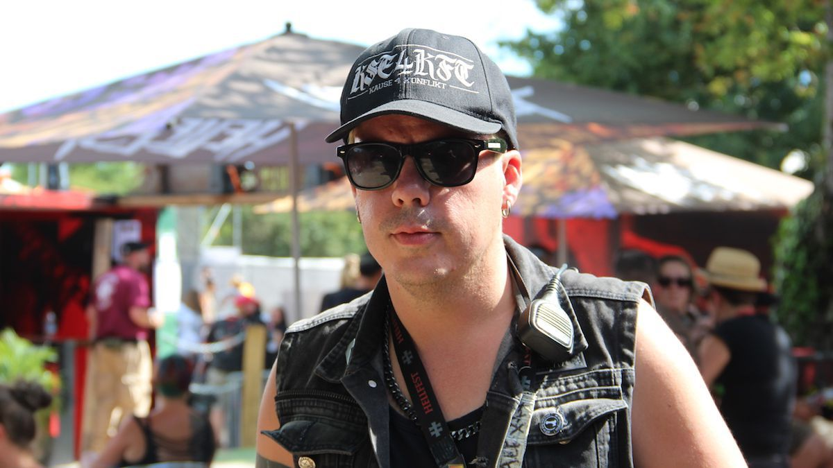 Alexxx Lun Des Boss Du Hellfest Charge De La Communication Festival