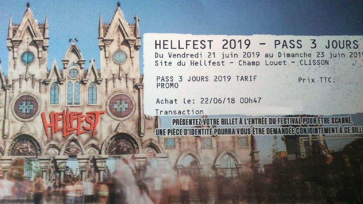 Hellfest 2019. Ouverture de la billetterie, on récapitule et on s'organise...
