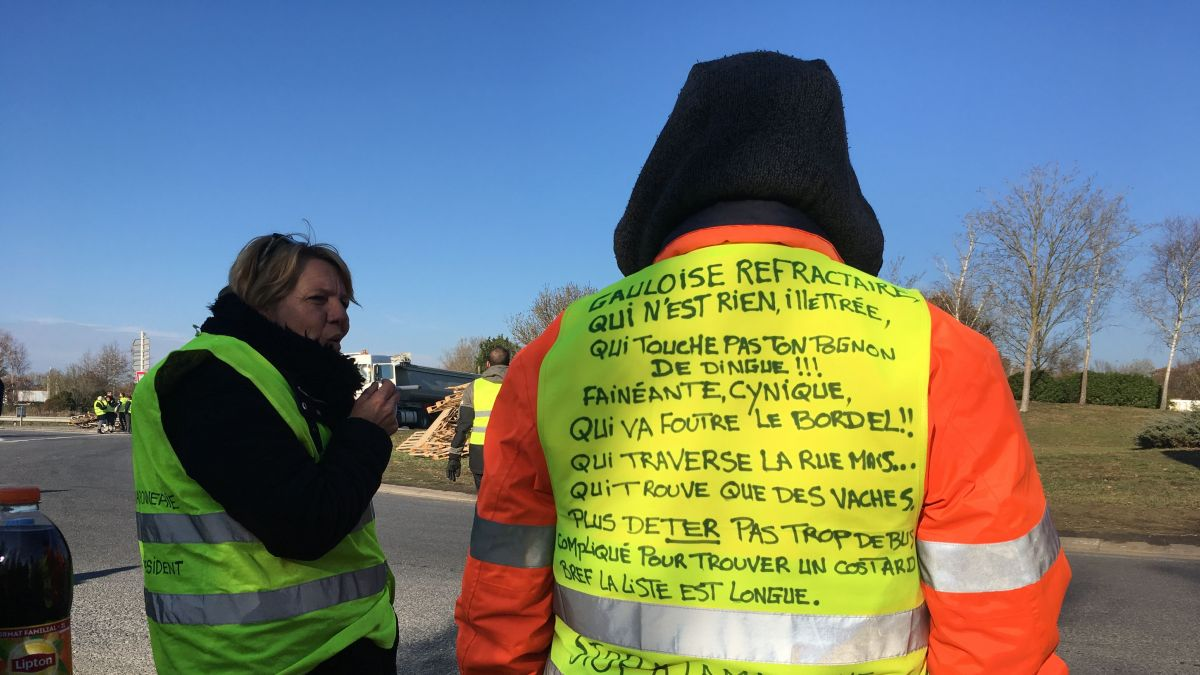 "Mouvement des Gilets jaunes : ""L'appel de Saint-Nazaire"" vu plus d'1 million de fois sur Facebook"