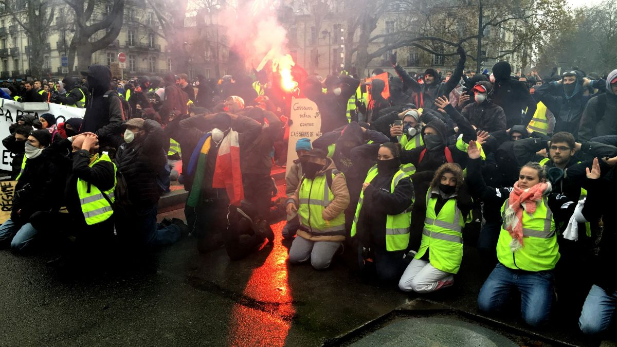 DIRECT. Gilets Jaunes : treize interpellations à Nantes en marge des manifestations