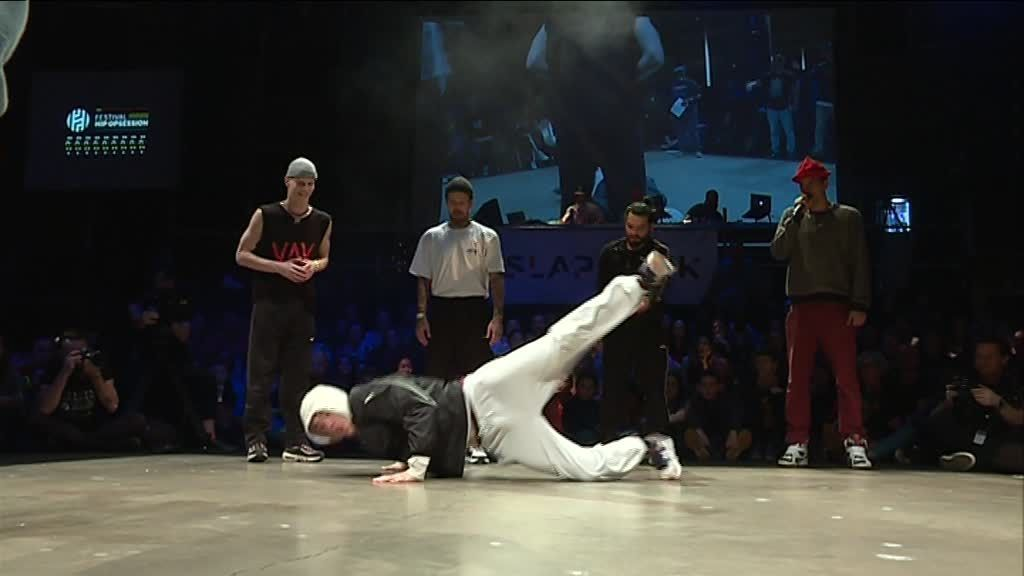 Battle au Festival Hip Opsession à Nantes le 16 février 2019 / © France 3