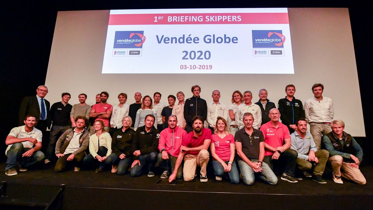 Vendée Globe : 34 concurrents maximum au départ de la course en 2020