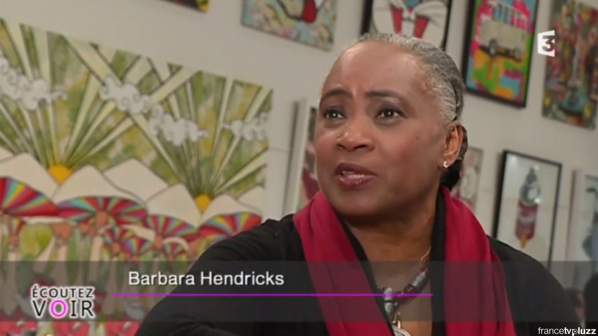 Barbara Hendricks à Mougins