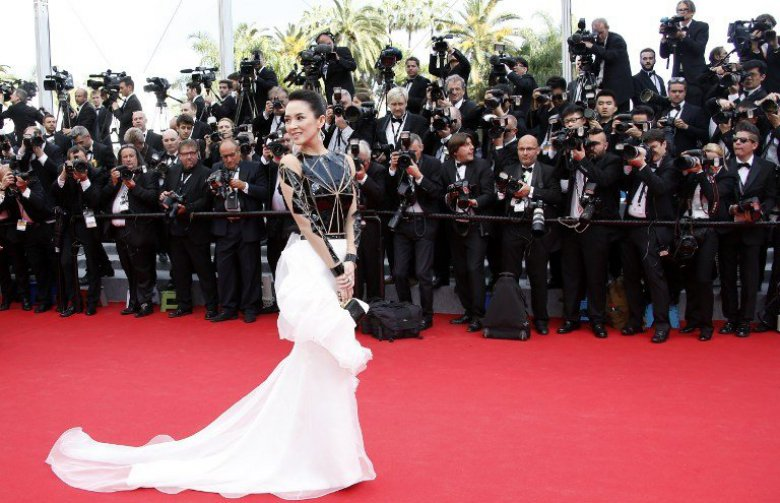 L'actrice chinoise Zhang Ziyi / © V. Hache/AFP