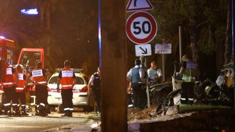 Moins d'accidents, mais des accidents plus violents en 2015 dans les Alpes-Maritimes