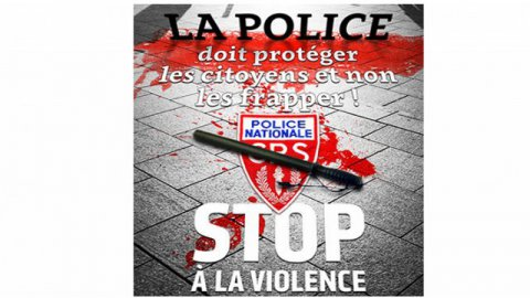 Affiche CGT / police
