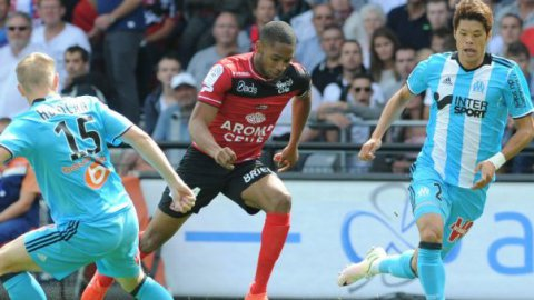 L'OM s'incline face à Guingamp 2 à 1