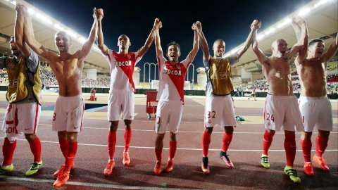 L'AS Monaco se qualifie pour la Ligue des champions contre Villarreal