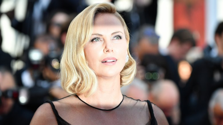 L'actrice Charlize Theron, le 23 mai à Cannes / © Alberto PIZZOLI / AFP