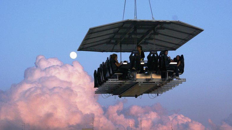 Dinner in the sky / © DR