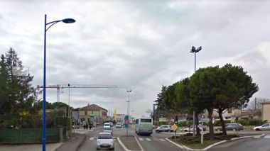 L'agression a eu lieu sur l'avenue Frédéric Mistral à Manosque / © Capture Google maps