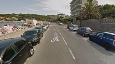 Le Boulevard James Wyllie à Antibes. / © Street View / Google Maps
