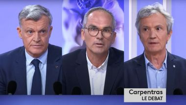 Municipales 2020 : Carpentras, le débat du second tour / © FTV