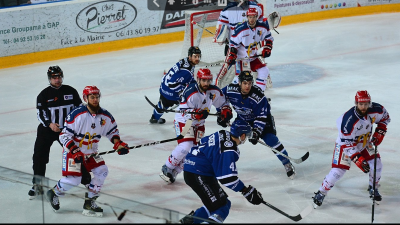 Ligue Magnus : Gap s'incline devant Grenoble (6-5)