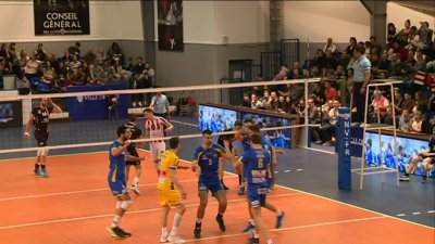 Volley : l'AS Cannes s'impose 3-2 sur le terrain de Nice