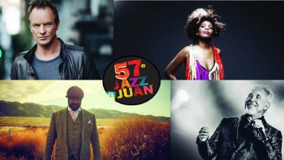Jazz à Juan avec Macy Gray, Gregory Porter, Tom Jones et Sting