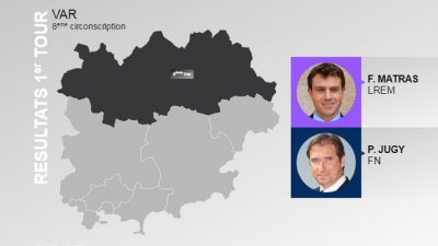 LEGISLATIVES à DRAGUIGNAN - Qui entre Fabien Matras et Pierre Jugy remporte la 8e circonscription ?