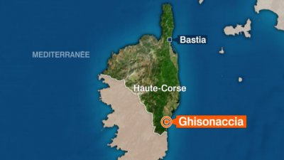 4 morts en Corse dans le crash d'un avion de tourisme en provenance de Cannes