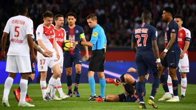 L'AS Monaco battu 3-1 par le Paris Saint-Germain