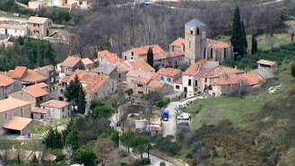 saint privat herault village
