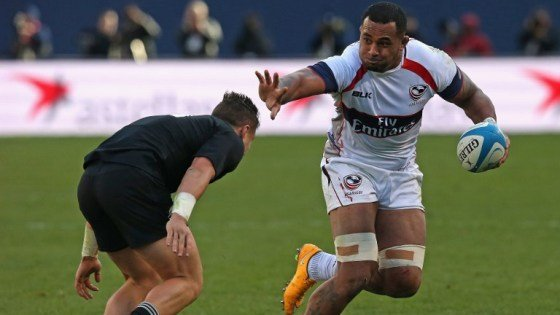 Samu Manoa en action / © Photo AFP / Jonathan Daniel