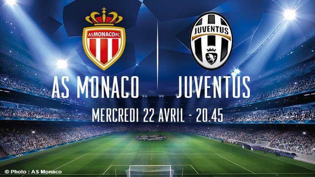 AS Monaco - Juventus de Turin le 22 avril: la billetterie est ouverte
