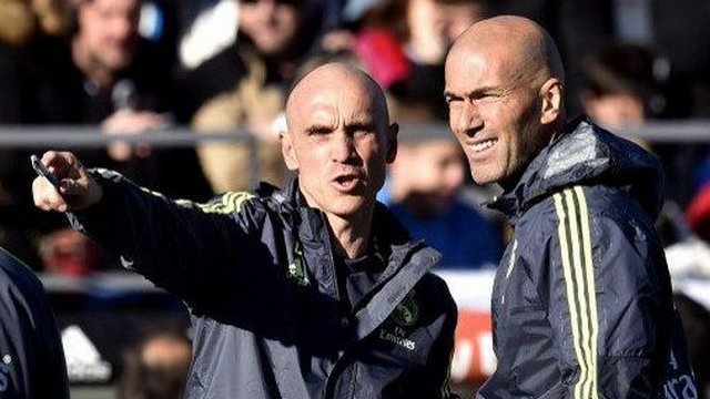 David Bettoni, adjoint de Zidane au Real Madrid © GERARD JULIEN / AFP
