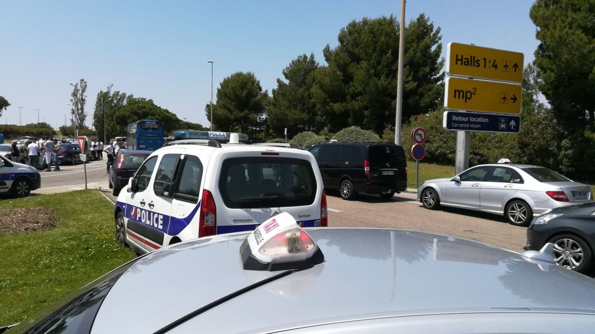 Aéroport Marseille-Provence : tensions entre taxis et Uber