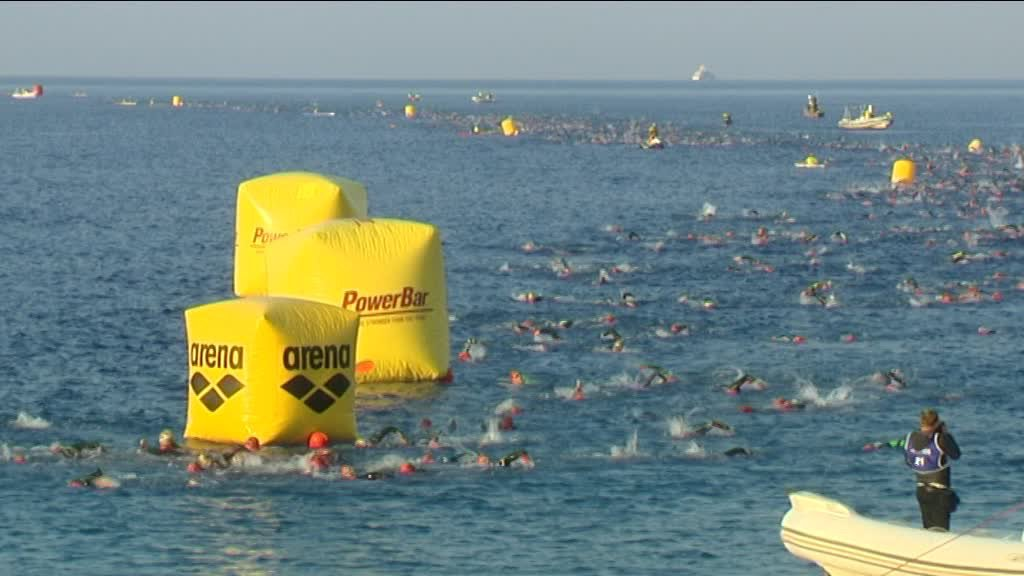 VIDEO - Les temps forts de l'Ironman à Nice