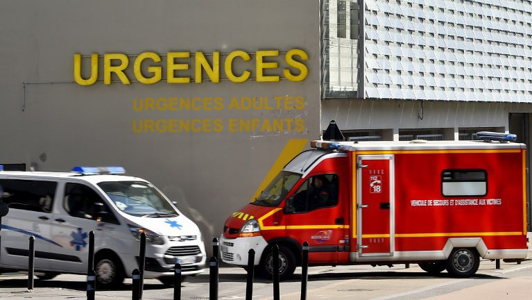 Illustration d'ambulances / © LOIC VENANCE / AFP